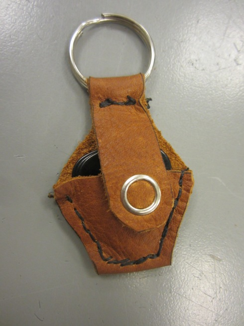 Finished Pick-Pocket Key Chain